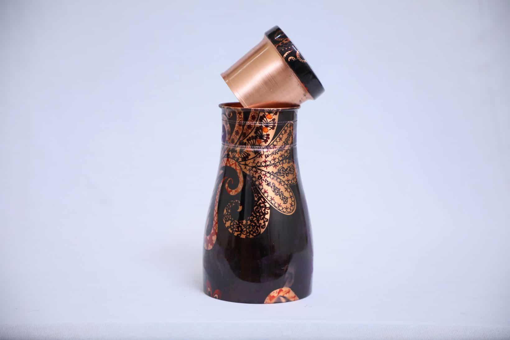 Copper Bedside Pots