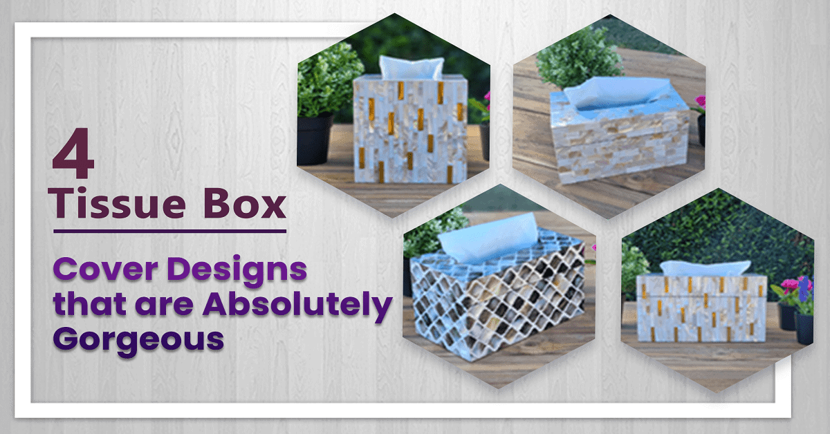 facial tissue box holders